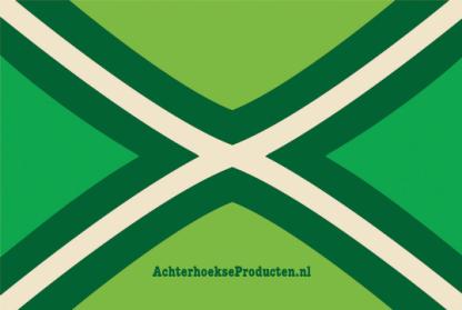 Sticker achterhoekse vlag