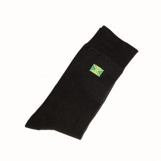 zwarte sokken met Achterhoekse vlag